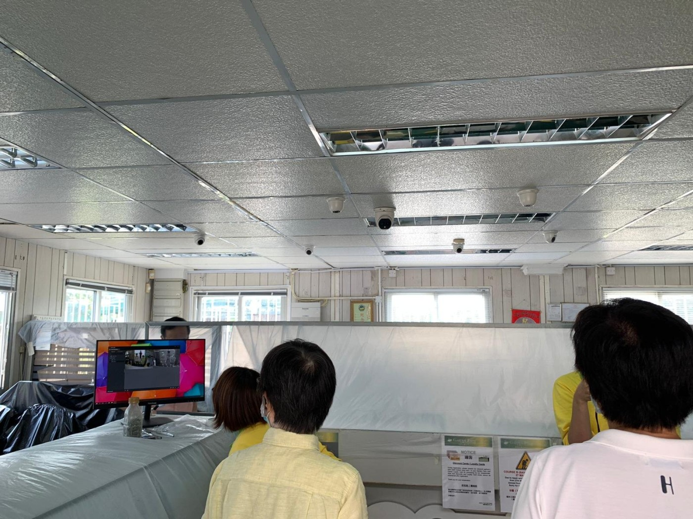 Body Temperature Screening Solution Setup References-Entertainment Place with Ceiling Mounted